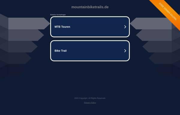 Vorschau von www.mountainbiketrails.de, Mountainbike Trails