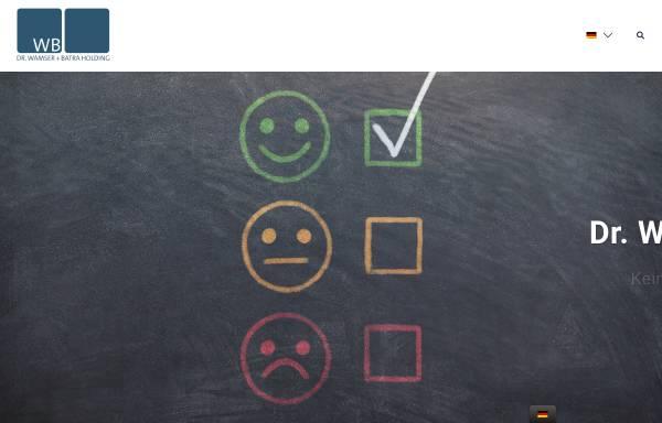 Vorschau von wamser-batra.de, India Consult Dr. Wamser und Batra GmbH