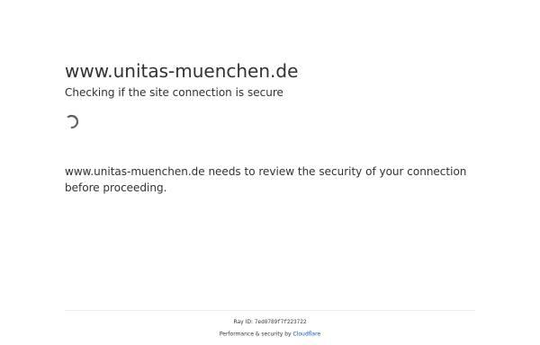 Vorschau von www.unitas-muenchen.de, Unitas München