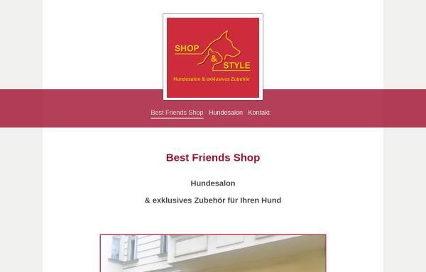 Vorschau von www.best-friends-shop.de, Best Friends Shop