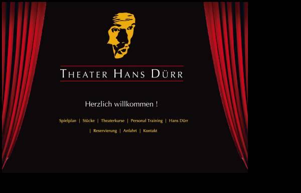 Vorschau von www.theater-duerr.de, Freiburg, Theater Hans Dürr