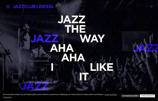 Vorschau von www.jazzclub-leipzig.de, Jazzclub Leipzig e.V.