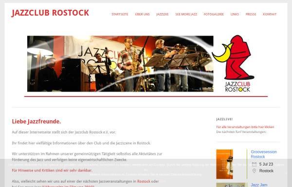 Vorschau von www.jazzclub-rostock.de, Jazzclub-Rostock