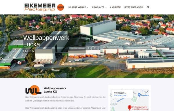 Vorschau von www.wellpappenwerk-lucka.de, Wellpappenwerk Lucka GmbH