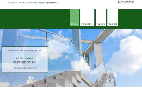 Vorschau von www.glas-trotberger.at, Glaserei Trotberger