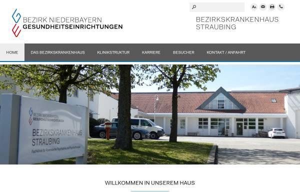 Vorschau von www.bkh-straubing.de, Bezirkskrankenhaus Straubing Forensisch-psychiatrische Klinik