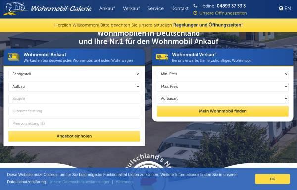Vorschau von www.wohnmobil-galerie.de, Wohnmobil-Galerie GmbH