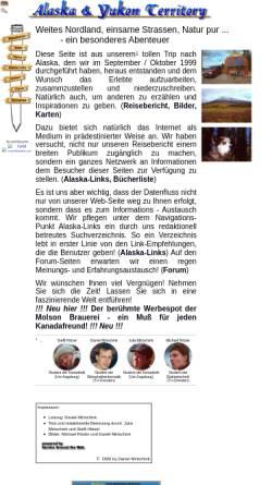 Vorschau der mobilen Webseite www.mirtschink.de, Alaska & Yukon Territory [Daniel Mirtschink]