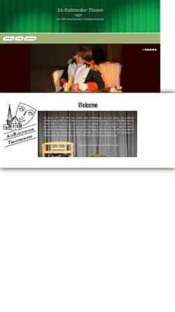 Vorschau der mobilen Webseite www.art-hh.de, A.R.T. - Alt-Rahlstedter Theatergruppe