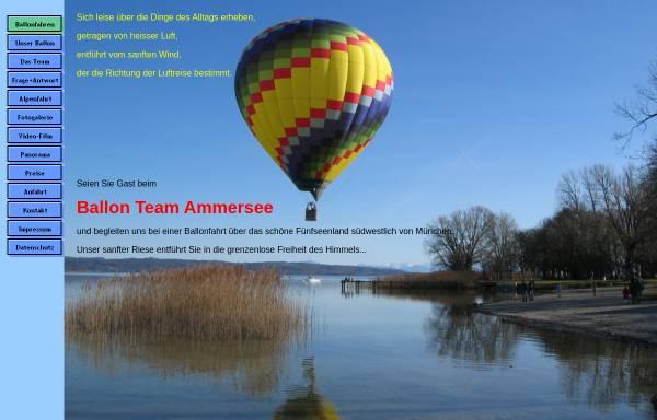 Vorschau von www.ammersee-ballonfahrten.de, Ballonteam Ammersee