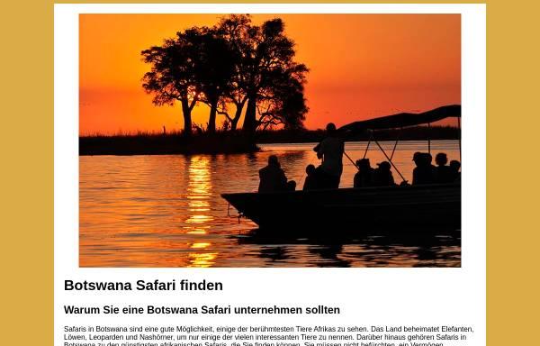 Vorschau von www.botswana-safari.de, AFRI-Reisen