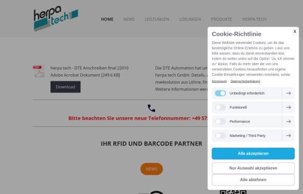 Vorschau von www.dte.de, DTE Automation GmbH