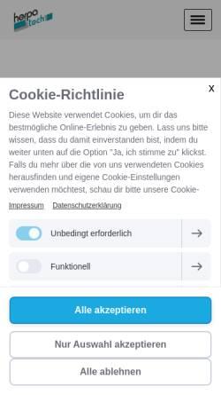 Vorschau der mobilen Webseite www.dte.de, DTE Automation GmbH