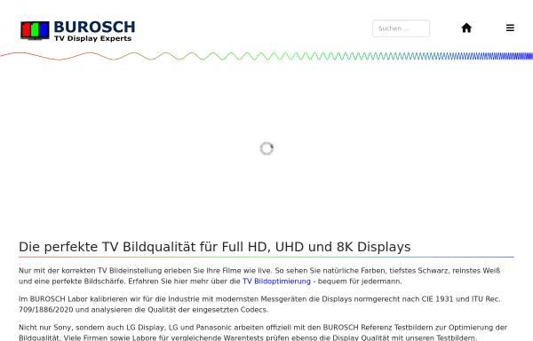 Vorschau von www.burosch.de, BUROSCH Audio-Video-Technik, Inh. Klaus, Steffen und Andreas Burosch