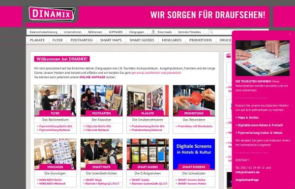 Vorschau von www.dinamix.de, Dinamix Media GmbH