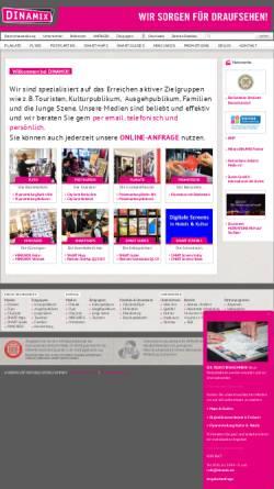 Vorschau der mobilen Webseite www.dinamix.de, Dinamix Media GmbH