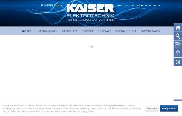 Vorschau von www.martin-kaiser.de, Martin Kaiser GmbH & Co. KG
