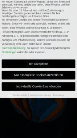 Vorschau der mobilen Webseite www.nickel-newmedia.de, Christoph Nickel