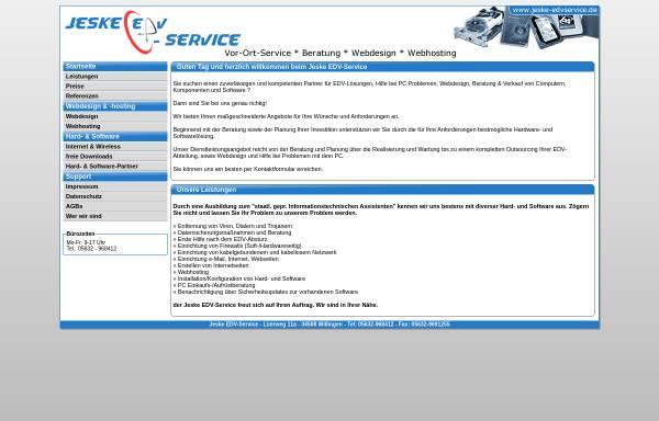 Vorschau von www.jeske-edvservice.de, Jeske EDV-Service