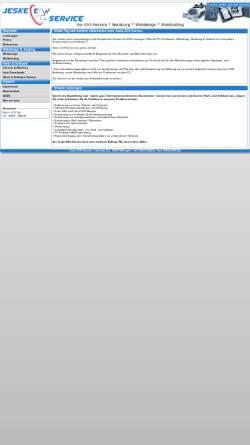 Vorschau der mobilen Webseite www.jeske-edvservice.de, Jeske EDV-Service