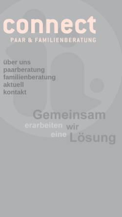 Vorschau der mobilen Webseite connect-hamburg.de, Connect Paar- und Familienberatung