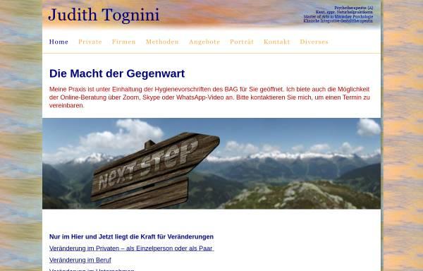 Vorschau von www.tognini.ch, Judith Tognini
