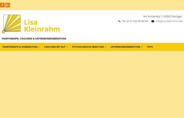 Vorschau von www.lisa-kleinrahm.de, Lisa Kleinrahm
