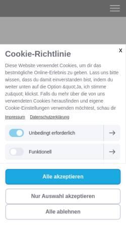 Vorschau der mobilen Webseite www.paarberatung-tirol.at, Paar und Sexualberatung Tirol
