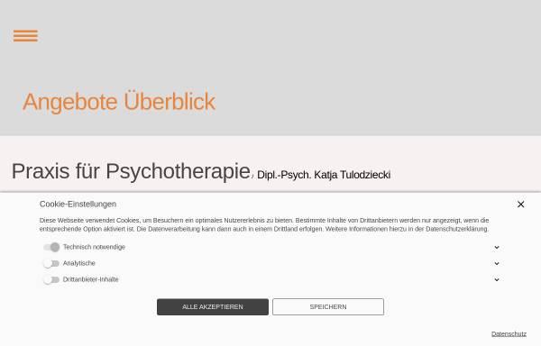 Vorschau von psychotherapie-beratung-berlin.de, Paarberatung Berlin