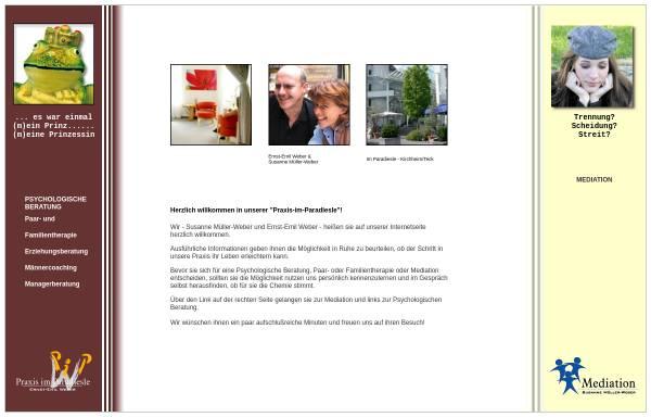 Vorschau von www.praxis-im-paradiesle.de, Praxis im Paradiesle