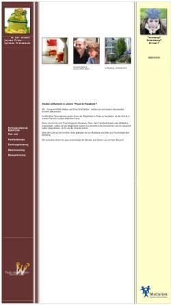 Vorschau der mobilen Webseite www.praxis-im-paradiesle.de, Praxis im Paradiesle
