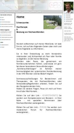 Vorschau der mobilen Webseite paarberatung-muenster.de, Thomas Gerling-Nörenberg