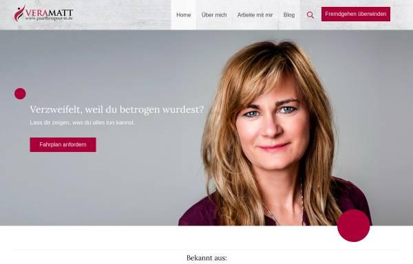 Vorschau von paartherapeut-in.de, Vera Matt