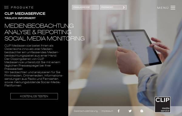 Vorschau von www.clip.at, Clip Mediaservice Ges.m.b.H.