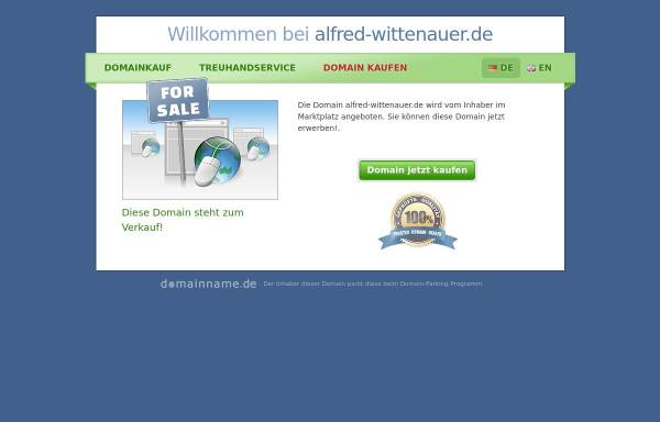 Vorschau von www.alfred-wittenauer.de, Alfred Wittenauer