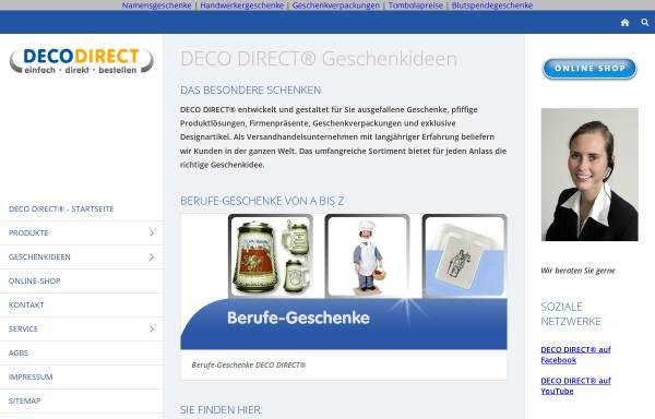 Vorschau von www.deco-direct.de, Deco Direct Marketing GmbH