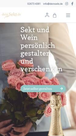 Vorschau der mobilen Webseite www.deinsekt.de, deinsekt.de, Inh. Andreas Schlagkamp