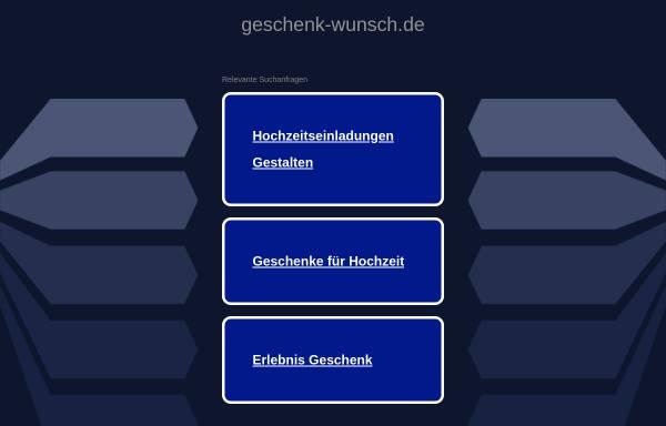Vorschau von www.geschenk-wunsch.de, Dekopack-Ass, Inh. Mechthilde Vollmer