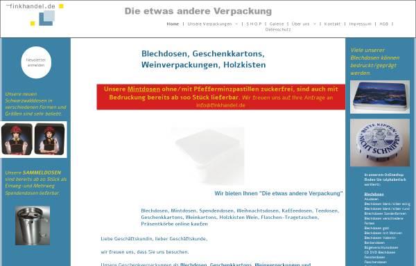 Vorschau von www.finkhandel.de, Fink-Handel, Inh. Brigitte Fink