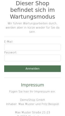 Vorschau der mobilen Webseite www.geschenke-versandhaus.de, Geschenke Versandhaus, Inh. Volker Lupp