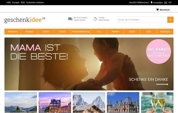 Vorschau von www.geschenkidee.ch, Geschenkidee.ch