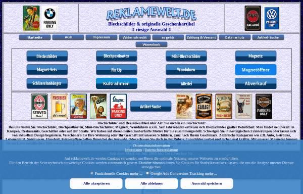 Vorschau von www.reklamewelt.de, Reklamewelt