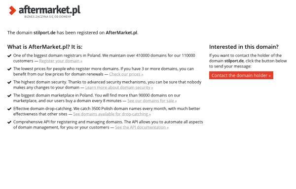 Vorschau von www.stilport.de, Stilport GmbH