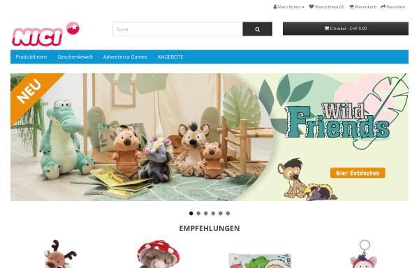 Vorschau von www.nici-shop.ch, upX GmbH