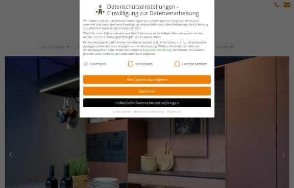 Vorschau von www.hummel.de, Hummel Küchenwerk GmbH