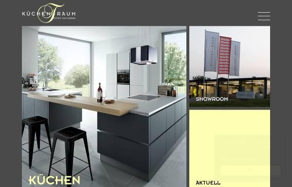 Vorschau von www.kuechentraum.ch, Küchen + Raum AG