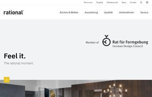 Vorschau von www.rational.de, Rational Einbauküchen GmbH
