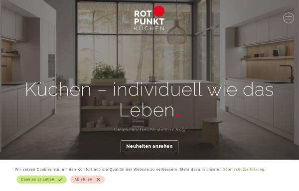Vorschau von www.rotpunkt-kuechen.de, Rotpunkt Rabe & Meyer Küchen GmbH & Co.KG