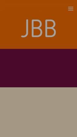 Vorschau der mobilen Webseite www.jbb-berlin.de, Rechtsanwälte Jaschinki, Biere und Brexel, Berlin