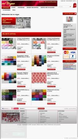 Vorschau der mobilen Webseite www.envogue-mainz.de, en vogue